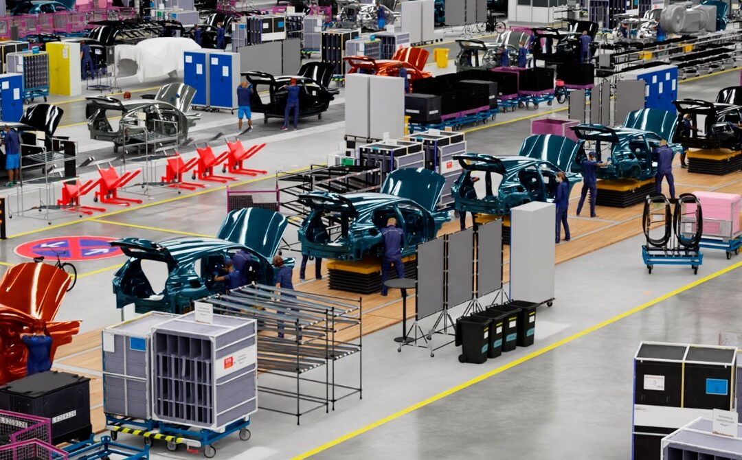 BMW's Virtual Factory Uses AI to Hone the Assembly Line
